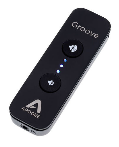 iPad/iPhone Аудиоинтерфейс Apogee Groove микрофоны apogee mic96k win mac