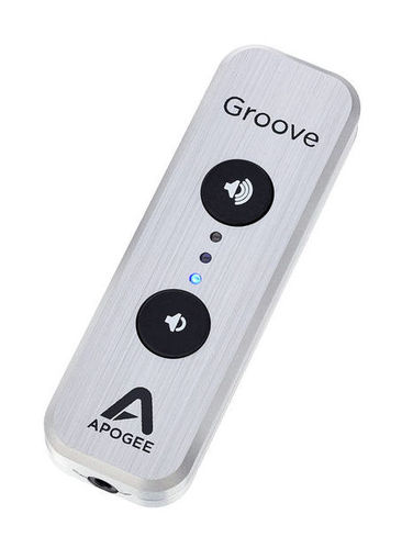 Усилитель для наушников Apogee Groove 30th Anniversary Silver усилители для наушников nuforce icon udac 2 silver