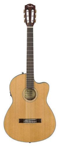 Классическая гитара 4/4 Fender CN-140SCE Natural fender cc 140sce sb