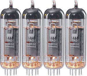 TAD RT274 Tubes EL84 Cz Quartet tad rt274 tubes el84 cz quartet