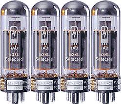 TAD RT154 Tubes EL34L Cz Quartet tad rt274 tubes el84 cz quartet