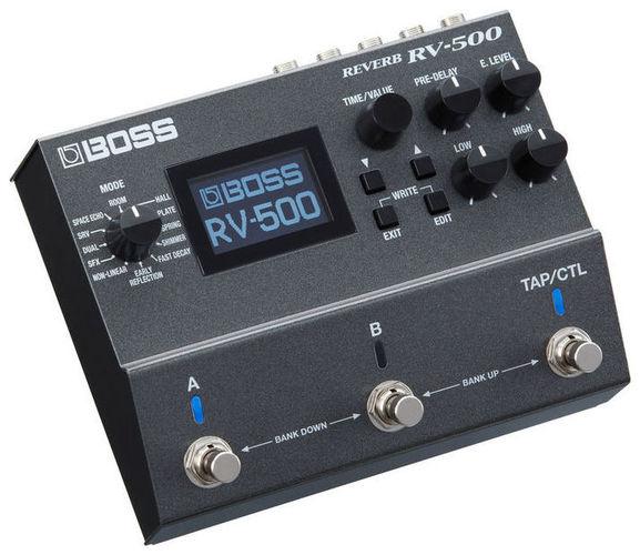 Гитарный процессор для электрогитары Boss RV-500 Reverb спутниковые конвертеры