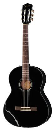 Классическая гитара 4/4 Fender CN-60S Black fender cn 60s nat