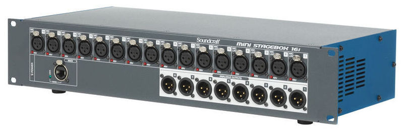 Soundcraft Stagebox Mini 16i soundcraft vi series madi card