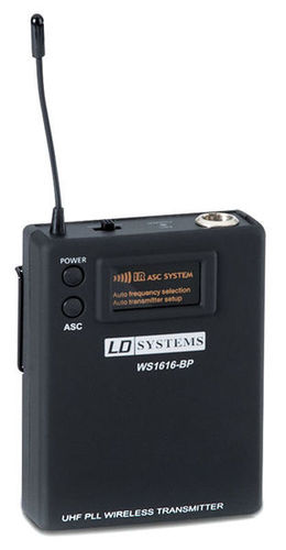 DJ оборудование LD Systems Pocket Transmitter Roadboy B5 вокальный микрофон ld systems handheld transmitter roadboyb5