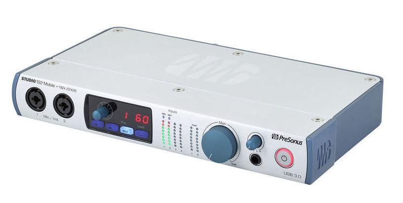 Звуковая карта внешняя PreSonus Studio 192 Mobile аудио интерфейс presonus audiobox 44vsl ubs 2 0