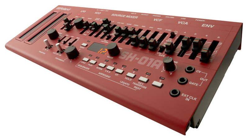 Звуковой модуль Roland SH-01A-RD комбо для гитары roland cube street rd