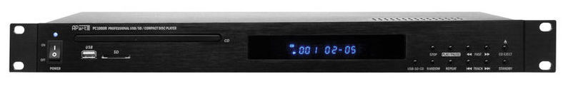 Рэковый проигрыватель APart PC 1000R MKII CD/MP3-Player bmw usb mp3 проигрыватель