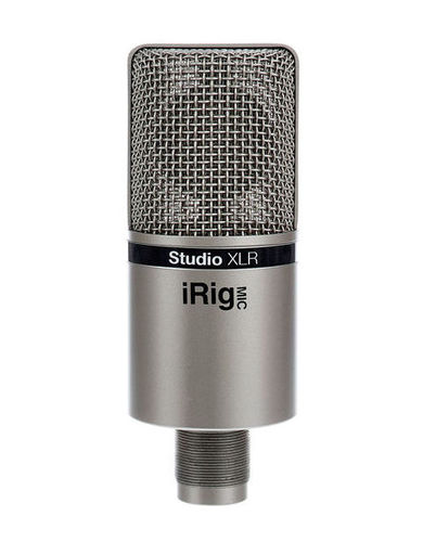 Микрофон с большой мембраной для студии IK Multimedia iRig Mic Studio XLR ik multimedia irig powerbridge