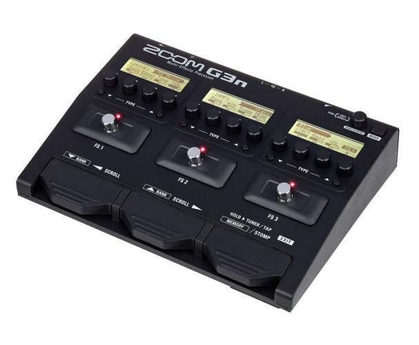 Гитарный процессор для электрогитары Zoom G3n гитарный процессор для электрогитары nux pg 2