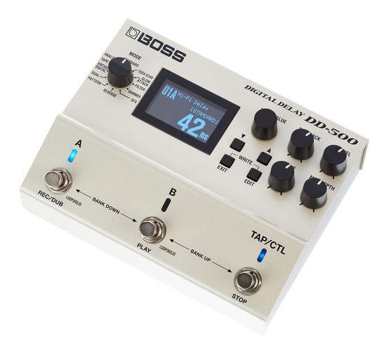 Гитарный процессор для электрогитары Boss DD-500 Digital Delay клей активатор для ремонта шин done deal dd 0365
