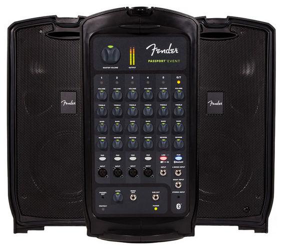 Комплект акустических систем Fender PASSPORT EVENT контроллер акустических систем dbx driverack pa 2
