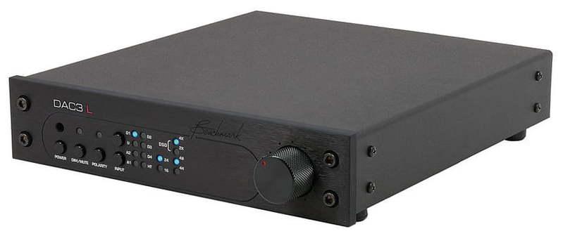 Звуковая карта внешняя Benchmark DAC3 L Black цап ацп конвертер benchmark dac3 hgc b
