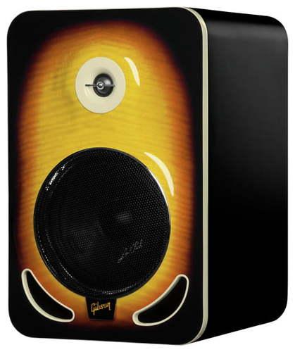 Активный студийный монитор Gibson LP8 Tobacco Burst активный студийный монитор tascam vl s3