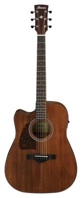 Гитара для левшей Ibanez AW54LCE-OPN
