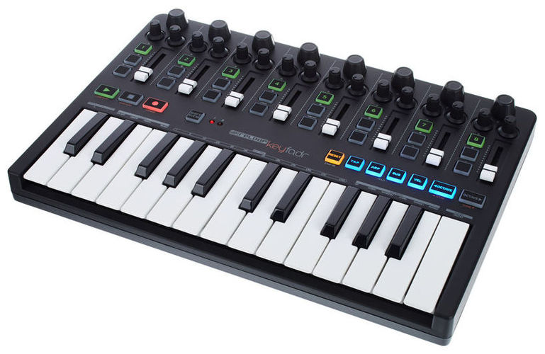 MIDI-USB контроллер Reloop Keyfadr midi контроллер alesis sample pad