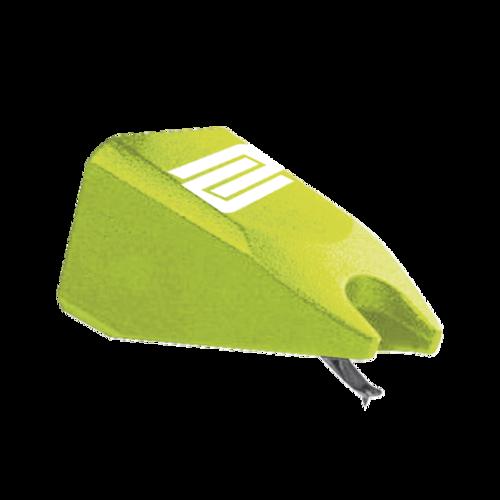 Игла для винилового проигрывателя Reloop Stylus green игла для винилового проигрывателя audio technica atn95e