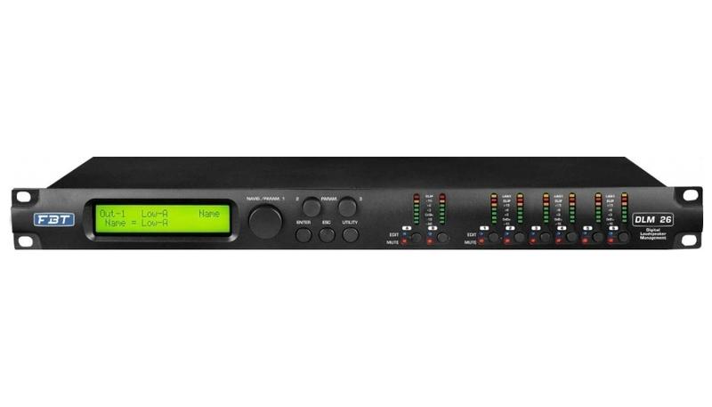 Контроллер акустических систем FBT DLM-26 комплект акустических систем fbt vertus cs 1000