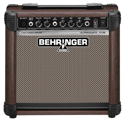 Усилитель для акустической гитар Behringer ULTRACOUSTIC AT108 усилитель для акустической гитар roland cube street ex