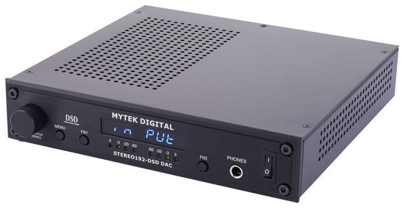 ЦАП-АЦП конвертер Mytek Digital Stereo 192 DSD-DAC Preamp BK цап ацп конвертер benchmark dac3 hgc b