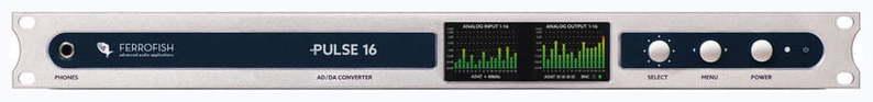 ЦАП-АЦП конвертер Ferrofish Pulse16 цап ацп конвертер benchmark dac3 hgc b