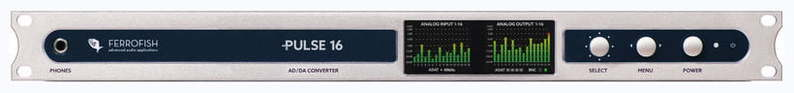 ЦАП-АЦП конвертер Ferrofish Pulse16 pulse i o card cqm1h plb21