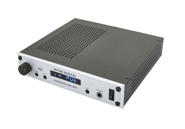ЦАП-АЦП конвертер Mytek Digital Stereo 192 DSD-DAC Preamp silv цап ацп конвертер benchmark dac3 hgc b