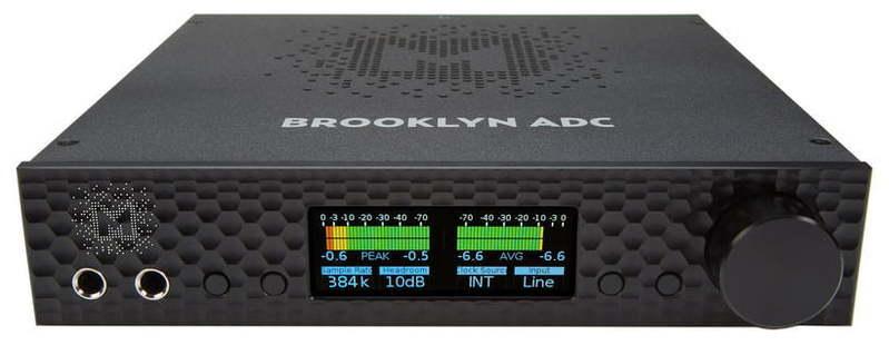 ЦАП-АЦП конвертер Mytek Digital Brooklyn ADC Black цап ацп конвертер benchmark dac3 hgc b