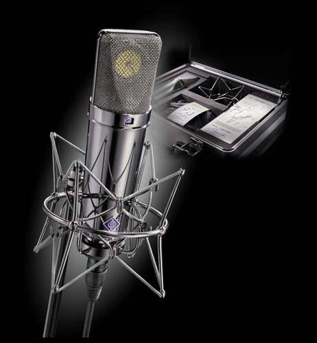 Микрофон с большой мембраной для студии Neumann U87 Rhodium Edition Set
