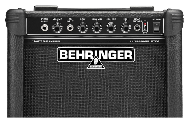 Усилитель для бас-гитары Behringer ULTRABASS BT108