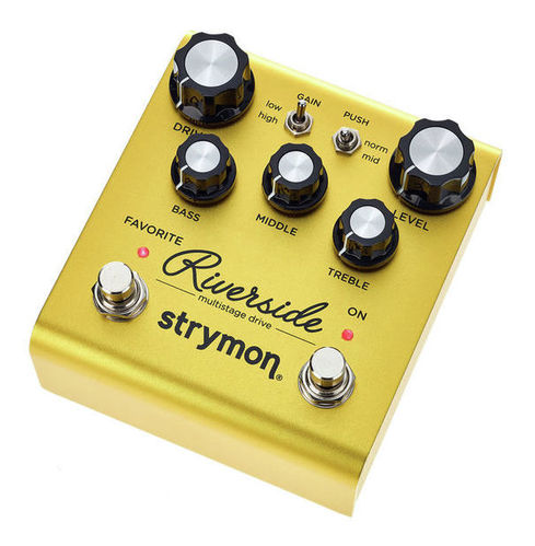 Педаль Overdrive и Distortion Strymon Riverside педаль reverb delay strymon flint