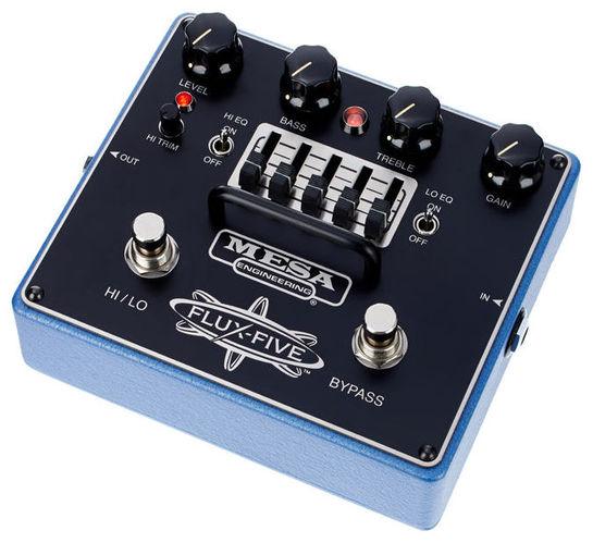Педаль Overdrive и Distortion Mesa Boogie Flux-Five Overdrive+ цена и фото