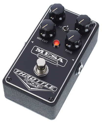 Педаль Overdrive и Distortion Mesa Boogie Throttle Box цена и фото