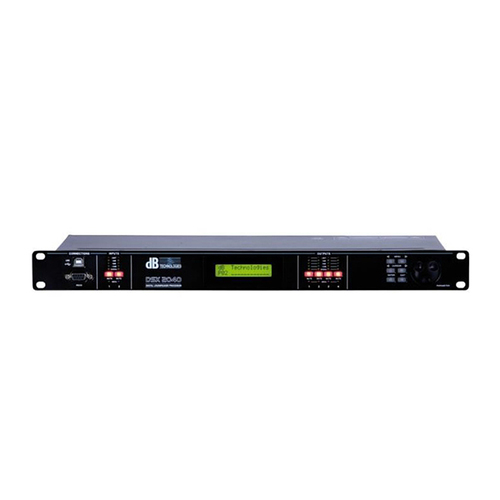Контроллер акустических систем dB Technologies DSX2040 контроллер акустических систем db technologies dsx2040