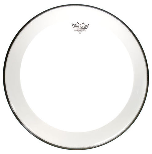 Пластик для бас-бочки 22 дюйма REMO 22 Powerstroke 4 Clear Bass remo powerstroke® 3 18' clear