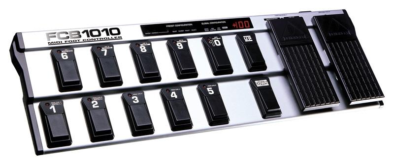 Контроллер, фут-свитч Behringer MIDI FOOT CONTROLLER FCB1010 midi контроллер g volca sample