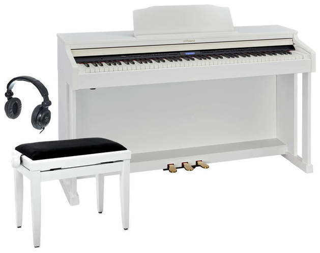Цифровое пианино Roland HP601-WH Set roland rp401r wh