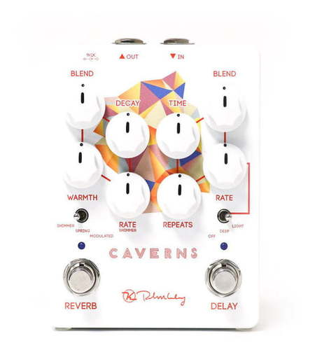 Педаль Reverb/Hall Keeley Electronics Caverns Delay Reverb V2 педаль reverb delay tc electronic flashback delay