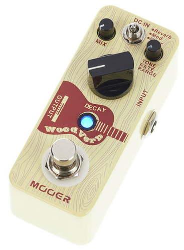 Педаль Reverb/Delay Mooer Woodverb Acoustic Reverb педаль reverb delay strymon big sky