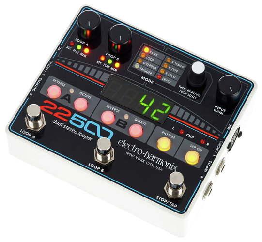 Electro-Harmonix 22500 Dual Stereo Looper douk audio 1pc electro harmonix eh kt90