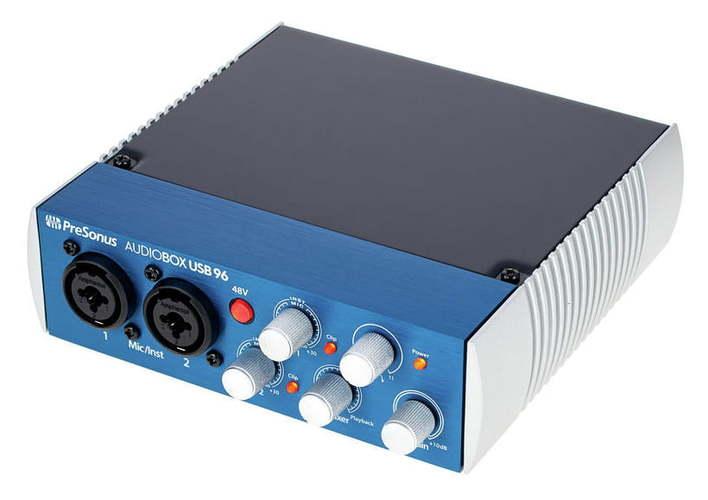 Звуковая карта внешняя PreSonus AudioBox USB 96 аудио интерфейс presonus audiobox 44vsl ubs 2 0