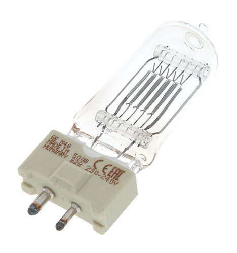 Галогенная лампа GE Lighting M40 Lamp 500W/230V GY9,5 галогенная лампа ge lighting cp41 2000w 230v g38