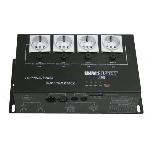 Контроллер DMX INVOLIGHT AD8
