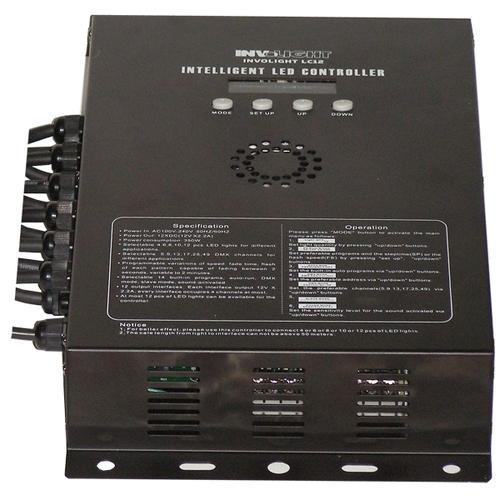 Контроллер DMX INVOLIGHT LC12 пылесос philips fc 8760 01 red