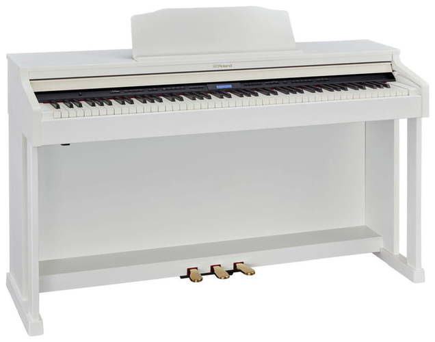 Цифровое пианино Roland HP-601 WH roland rp401r wh
