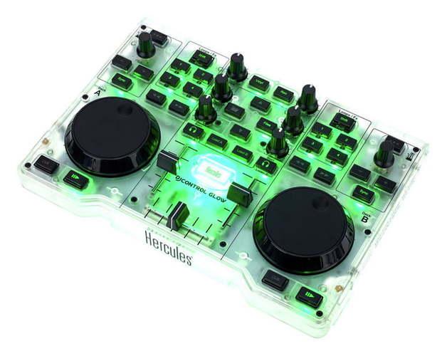 MIDI, Dj контроллер Hercules DJControl Glow midi контроллер alesis sample pad