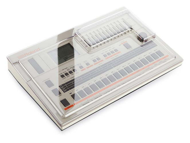 Защитная крышка и мягкий чехол Decksaver Roland TR-707 roland tr mg