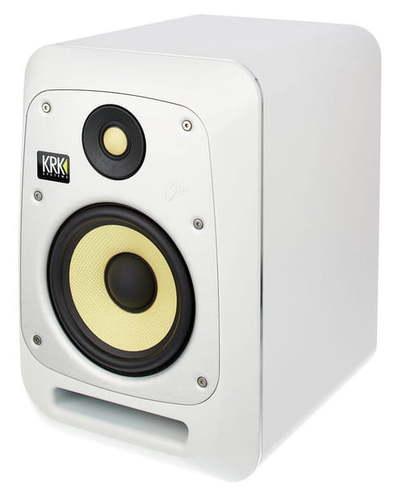 Активный студийный монитор KRK V6S4 White активный студийный монитор tascam vl s3