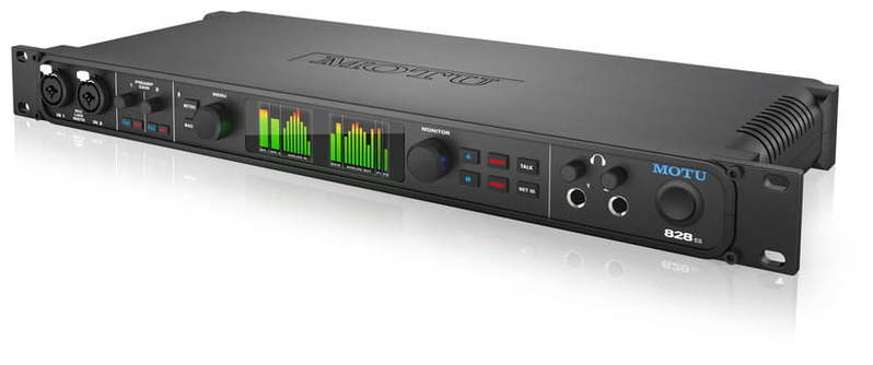 Звуковая карта внешняя MOTU 828es звуковая карта motu 828 mk iii firewire 24 192 в москве