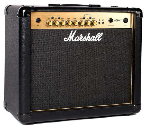 Комбо для гитары MARSHALL MG30GFX комбо для гитары marshall jvm205c